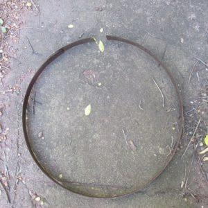 Rusty Barrel Hoop