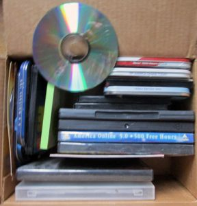 CDs in Cases