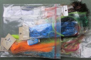Flashabou Tinsel for fly tying