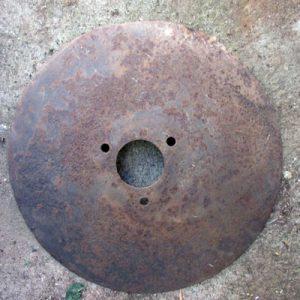 Rusted Harrowing Disc
