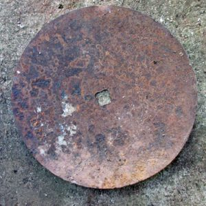 Rusted Harrowing Disc