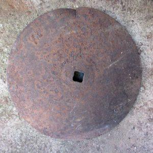 Rusty Harrowing Disc