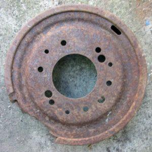 Rusted Heavy Circle Base