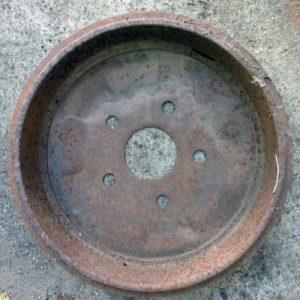 Heavy Rusty Circle 5 holes