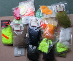 Dyed Wools for Fly Tying